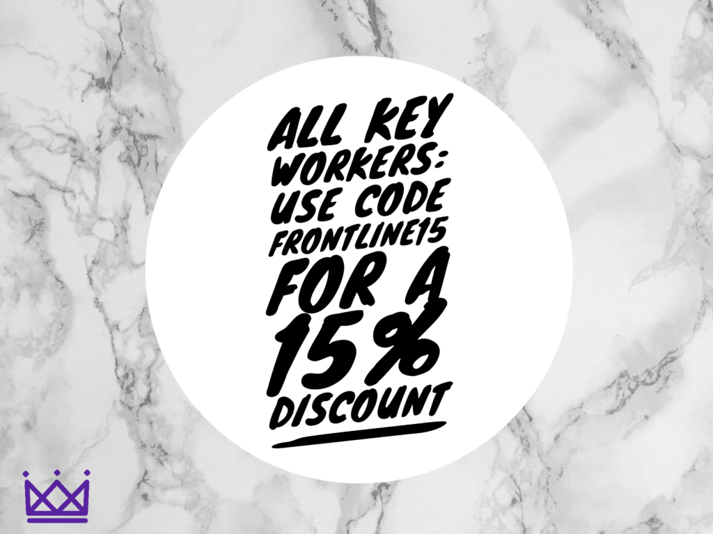 Discount code for key workers
