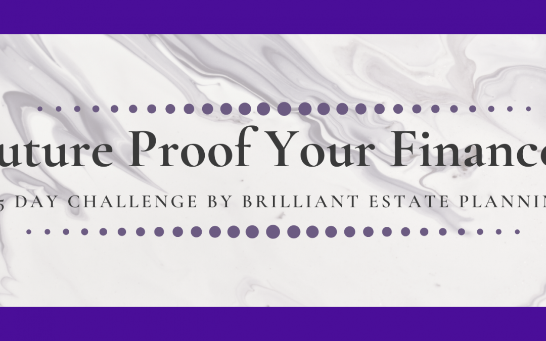 Future Proof Your Finances 5 Day Challenge